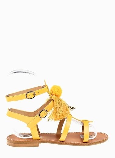 Divarese Sandalet Sarı